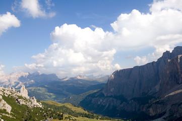 Sellagruppe und Gadertal- Dolomiten - Alpen