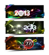 New year 2013 header. Vector illustration