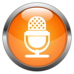Vector Button Microphone