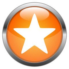 Vector Button Star