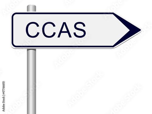 Panneau CCAS