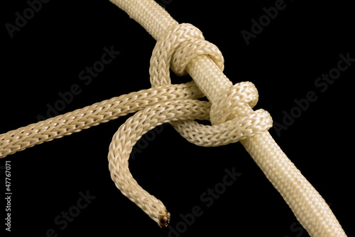 """схватывающий"" узел. the ""grabbing"" knot"
