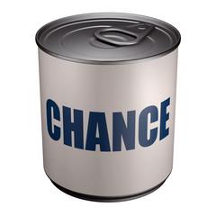 Chance - Boite de conserve