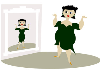 donna grassa