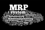 MRP - Material Requirements Planning poster