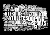 Doping and drug abuse poster