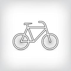 Fahrrad Silhouette