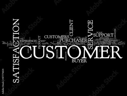 Customer concepts