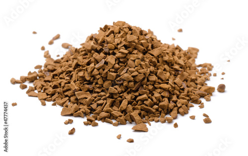 Instant coffee granules