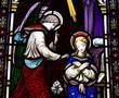 Annunciation: Gabriel visits Mary
