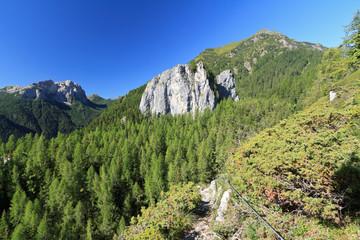 Monolith in Ronch, Italian Dolomites