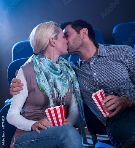 Stylish couple having romantic moment