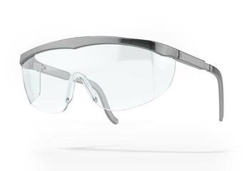 Plastic protection glasses