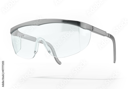 Plastic protection glasses