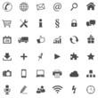 36 Basic Icons // Website Iconset