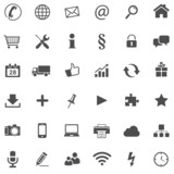 36 Basic Icons // Website Iconset