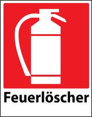 Extinguisher sign