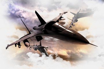 Fighter Jets in Action