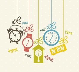 clock icons