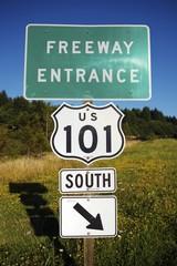 Highway 101 Entrance