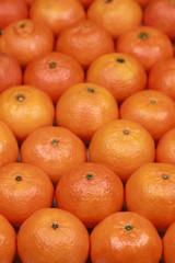 Hintergrund aus Mandarinen