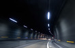 fast motion in dark tunnel