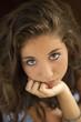 Regard d'une adolescente