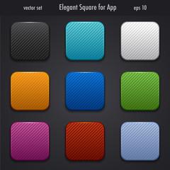 elegant square for app