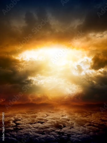 Dramatic nature background - 47790451