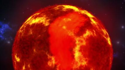 Sun in space loop