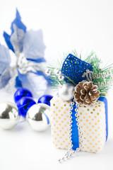 青と白のクリスマス