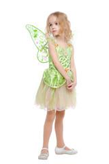 Little fairy girl portrait