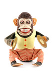 Vintage antique mechanical monkey
