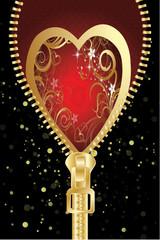 coeur de st valentin