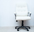white swivel task chair