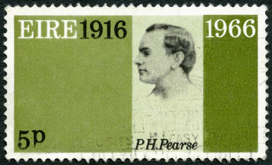 IRELAND (EIRE) - 1966: shows Patrick Henry Pearse (1879-1916)