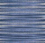 Style Seamless Knitted Pattern. Blue Silver White Color Illustra