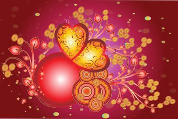 rose coeur de st valentin
