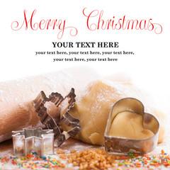 Mürbeteig mit Weihnachtsförmchen