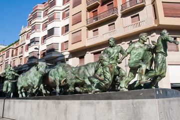 Monumento a los Encierros, Pamplona (España)