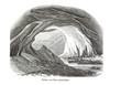 Gletschertor - Alte Lithographie