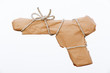 Semiautomatic pistol packed