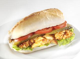 tavuk döner sandviç