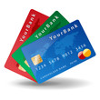 Three credit card