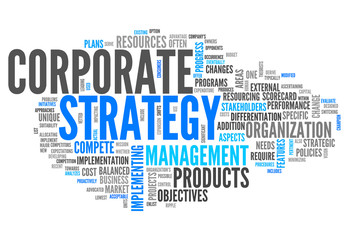 "Word Cloud ""Corporate Strategy"""