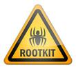 """Hazard Sign """"Rootkit"""""""