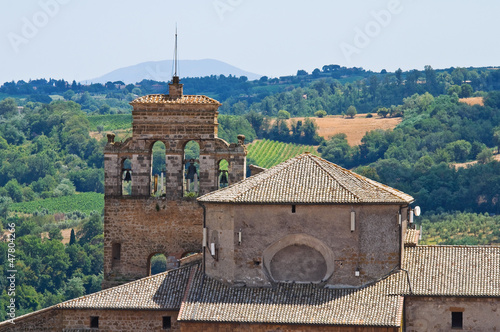 Church of St. Francesco. Orvieto. Umbria. Italy.