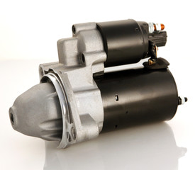 Automotive starter motor and selenoid