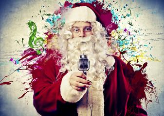 Colored Santa Claus