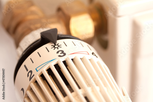 canvas print picture Heizungsthermostat ©yvonneweis